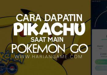Ini nih, Cara Buat Dapatin Pikachu Saat Main Pokemon GO