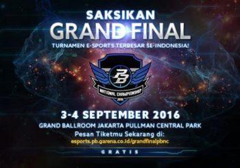 Hari Pertama Dimulainya Grand Final PBNC 2016