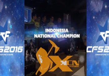 XcN Memenangkan Juara 1 Crossfire Stars 2016 Dan Berhak Berangkat Ke China Mewakili Indonesia