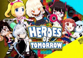 Penampilan Heroes of Tomorrow Game Mobile RPG Dengan Karakter Absurd