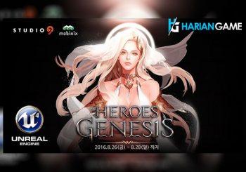 Heroes Genesis Game Mobile Action RPG Dengan Grafis Yang Fantastis Kini Telah Resmi Dirilis