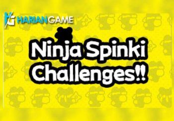 Setelah Flappy Bird, Dong Nguyen Kembali dengan Ninja Spinki CHallenge!!