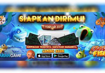 Buruan Dapatkan Hadiah Menarik Dari Game Mobile Crazy Fish