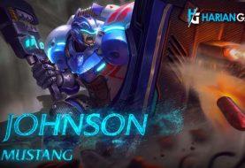 Video Penampilan Johnson sang mustang Hero Tank Mobile Legends Yang Baru