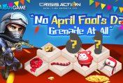 Crisis Action Menghadirkan Kejutan Menarik Melalui Event April Fool's