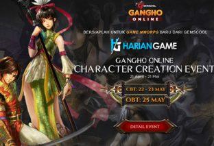 Event Character Creation Di GangHo Online Berhadiah 5 Unit Xiaomi Mi5