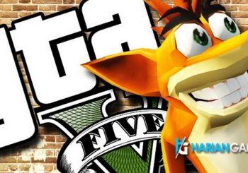 Inilah Aksi Mod Crash Bandicoot, Dora, CJ dan Crysis dalam GTA V