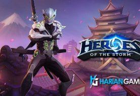 Karakter Hero Overwatch Genji Akan Hadir Di Heroes of The Storm