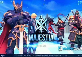 Inilah Game Mobile strategy Baru Berjudul Majestia Dari Com2uS
