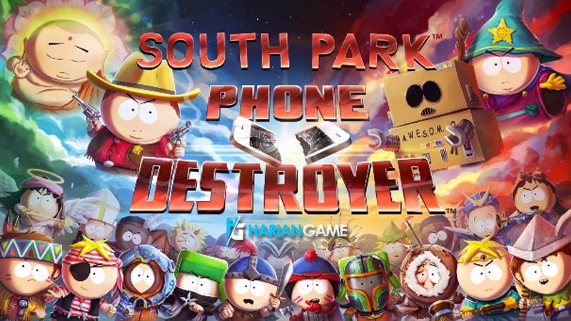 Inilah Game Mobile Perdana South Park Yang Berjudul South Park: Phone Destroyer