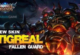 Update Skin Terbaru Tigreal Mobile Legends