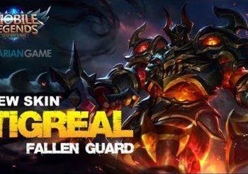 Update Skin Terbaru Tigreal Mobile Legends