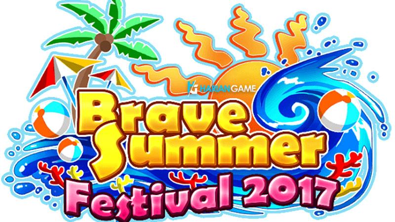 Brave Summer Festival 2017 Pada Brave Frontier Akan Menghadirkan Berbagai Event Menarik