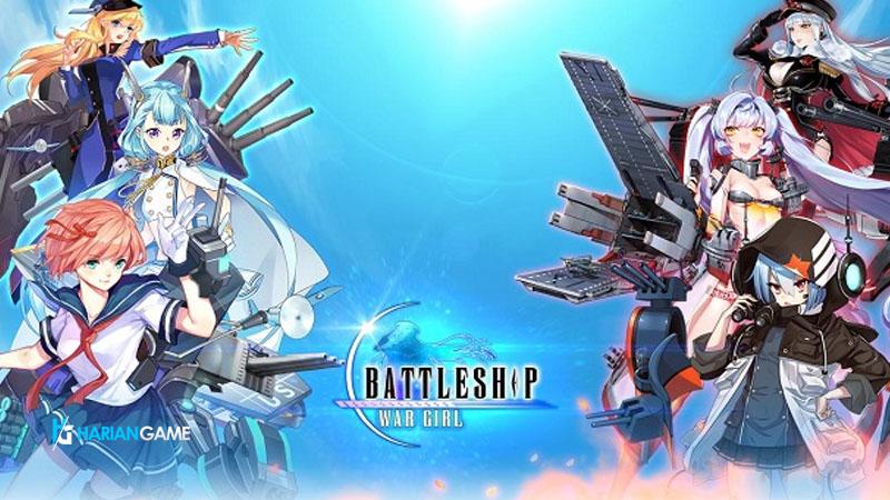 Inilah Game Mobile Battleship:War Girl Yang Bertemakan Kapal Perang Moe