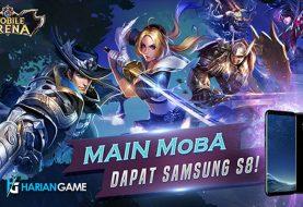 Event Main Mobile Arena Dapat Samsung S8
