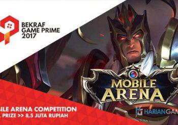 Buruan Daftarkan Tim Kamu ke Mobile Arena Competition di Game Prime Asia 2017