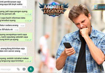 Gokil Bocah Ini Meminta Bantuan Mbah Dukun Untuk Menyantet Pemain AFK Di Mobile Legends