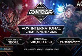 Kompetisi Turnamen internasional AOV Mobile eSport Terbesar Telah Tiba!