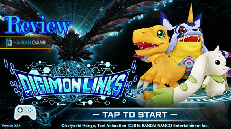 Review Game Mobile Digimon Links Game Yang Membuat Kalian Bernostalgia
