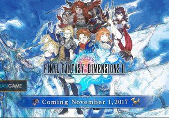 Game Mobile Final Fantasy Dimensions II Versi Inggris Akan Segera Dirilis