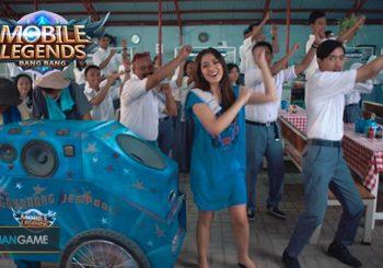 Iklan Mobile Legends Untuk Mengajak Para Pemainnya Goyang Jempol Bersama Jessica Iskandar