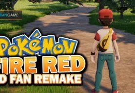 Inilah Remake Game Pokemon Fire Red Dengan Basis Unreal Engine 4 Yang Dikembangkan Seorang Fans