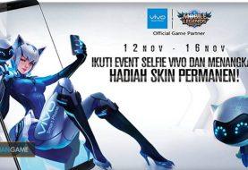 Buruan Ikut Event Selfie Vivo Untuk Memenangkan Skin Permanen Terbaru Eudora di Mobile Legends