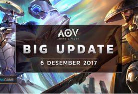 Inilah Perubahan Dari Big Update Garena AOV