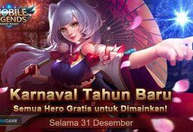 Tanggal 31 Desember Semua Hero Mobile Legends Gratis untuk Dimainkan