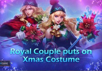 Inilah Penampilan Skin Couple Special Christmas Lancelot dan Odette
