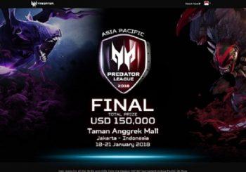 Meriahkan Asia Pasific Final Predator League 2018 Di Taman Anggrek