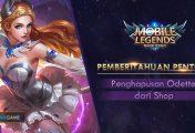 Hero Mage Odette Dikabarkan Akan Dihapus Dari Shop Mobile Legends