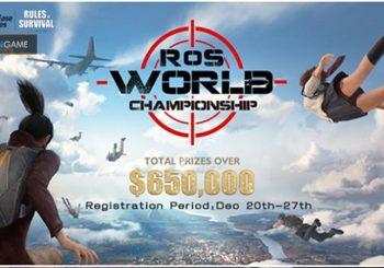Game Mobile Rules of Survival Menggelar Tournament Dengan Hadiah 650.000 USD