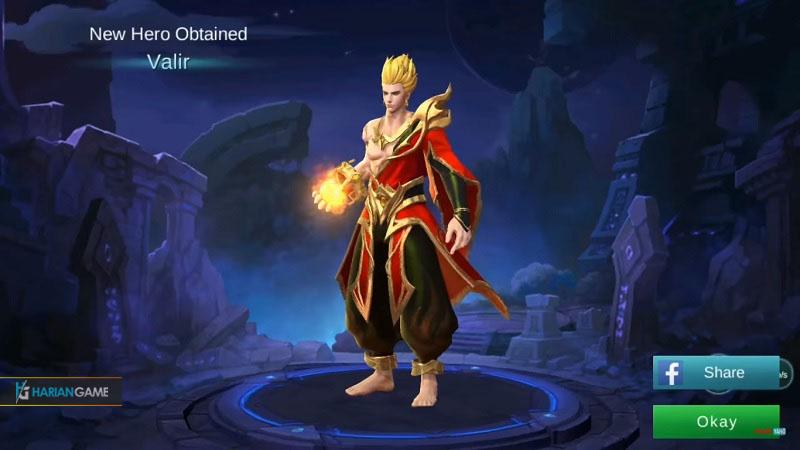 Review Hero Mage Baru Valir Mobile Legends