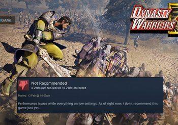 Game Dynasty Warriors 9 Banyak Dibanjiri Review Negatif Disteam