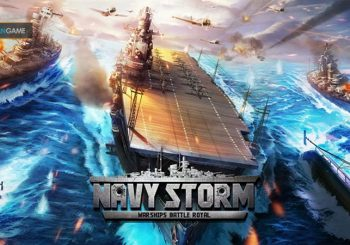 Game Mobile Battle Royal Navy Strom: Warships Resmi Dirilis