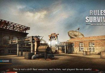 Game Mobile Rules of Survival Menggelar Update Map Baru Dengan Kapasitas 300 Pemain
