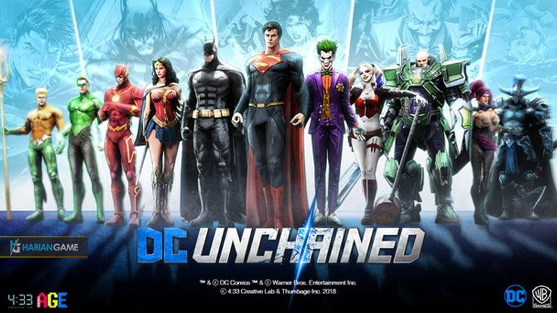 Game Mobile RPG DC Unchained Akhirnya Resmi Dirilis Hari Ini