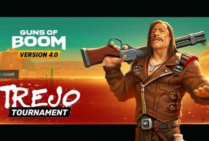 Game Mobile Guns of Boom Dengan Karakter Yang Mirip Danny Trejo Pemeran Film Machete