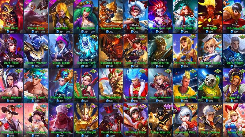 Ini 5 Hero Mobile Legends Murah dan Juga Mematikan, Kamu Sudah Punya?