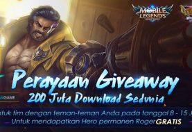 Mobile Legends Merayakan 200 Juta Download Dengan Membagikan Hero Roger Secara Gratis