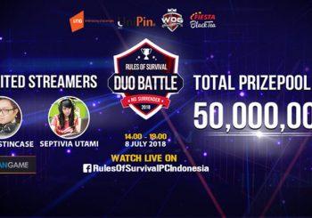 Rules of Survival PC Akan Mengadakan Turnamen Dengan Hadiah IDR 50 Juta Pada Bulan Ini