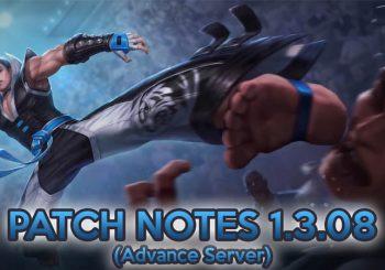 Inilah 3 Poin Penting di Update Mobile Legends 1.3.08 Advanced Server