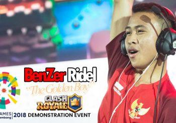 Ridel, Juara Clash Royale Asian Games 2018 Yang Harumkan Indonesia