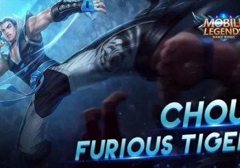 Inilah Penampilan Skin Terbaru Furious Tiger Hero Chou Mobile Legends
