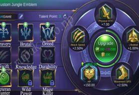 Mobile Legends Mengupdate Jungle Emblem Agar Bisa Digunakan Oleh Mage