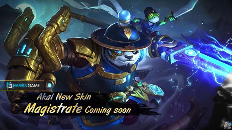 Inilah Penampilan Skin Terbaru Hero Akai Magistrate