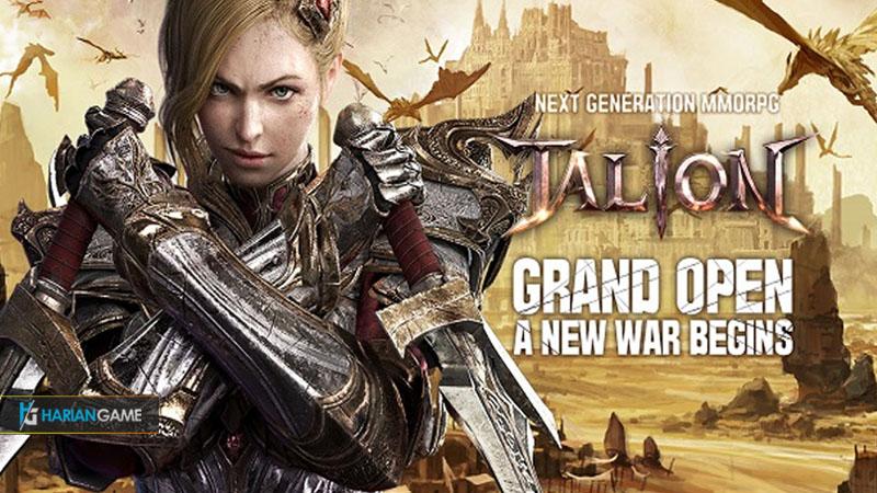 Game Mobile MMORPG TALION Sudah Dirilis Untuk Asia Tenggara