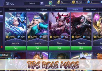 Inilah Tips Yang Berguna Untuk Pengguna Role Mage Mobile Legends