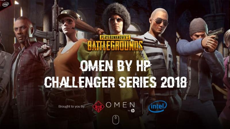 HP Gelar Event eSports PUBG Berjudul OMEN by HP Challenger Series
